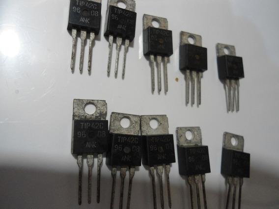 Transistor /tip42 - Embalagem Com 10 Peças