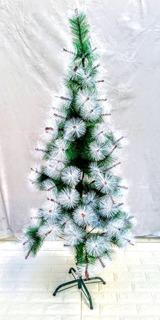 Arbol De Navidad Puntas Nevadas Medida 150cm