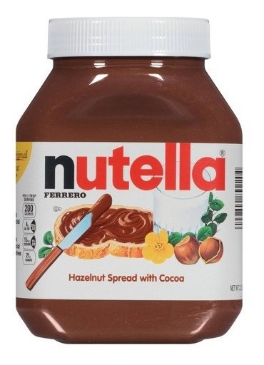 Nutella Crema De Avellanas 750 Gr.