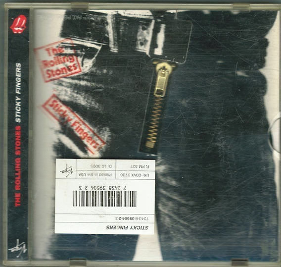 The Rolling Stones - Sticky Fingers Cd Collectors Edition