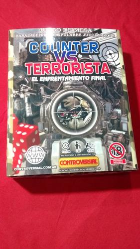 Counter Vs Terrorista - Juego De Mesa