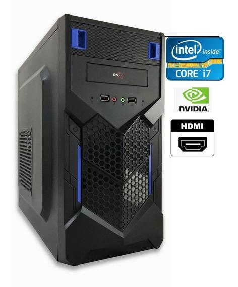 Cpu Gamer Intel Core I5 2.66ghz + 4gb + Ssd 120gb Gt710 2gb
