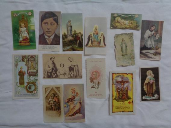 Lote De Estampitas Religiosas Virgen Ceferino Espiritu