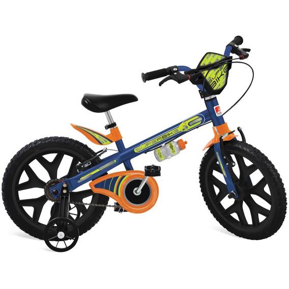 Bicicleta Aro 16 - Superbike - Azul - Bandeirante