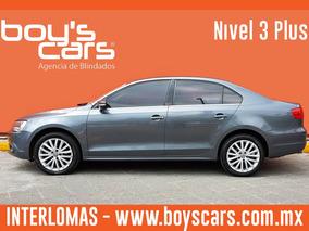 Unidad Blindada Volkswagen Jetta 2011 Bliondado Nivel 3 Plus