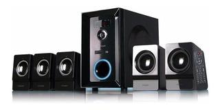 Home Theater Bluetooth Noga Net Logan 5000 5.1 95 Watts