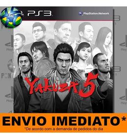 Yakuza 5 Ps3 - Envio Agora Midia - Digital Psn Play 3