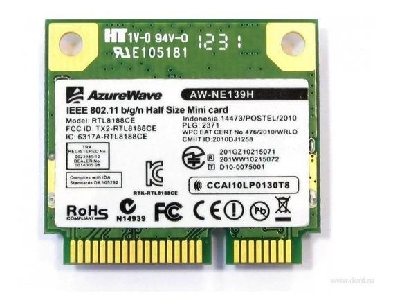 Placa Wifi Azurewave Aw-ne 139h [no Envio]