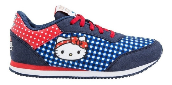 Zapatillas Topper Theo Kitty 2 Azu De Niñas