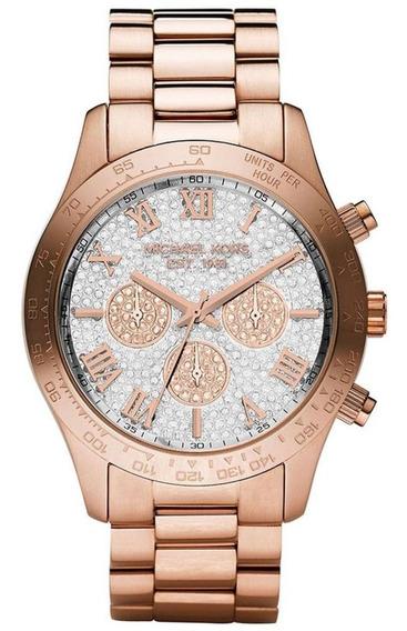 Relógio Michael Kors Mk5946 (feminino) Layton Rosê