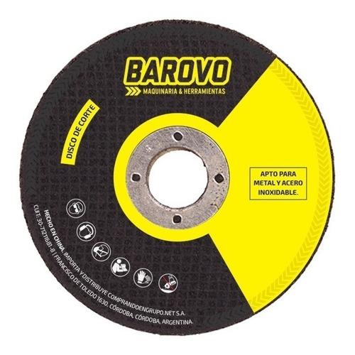 Disco Corte 25u 115 X 1.0 X 22.23 Mm Barovo Zona Norte