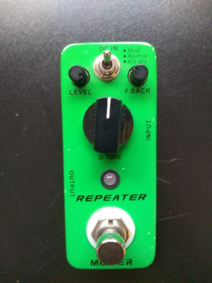 Pedal Mooer Repeater Delay