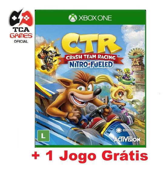 Crash Team Racing Ctr Xbox One Mídia Digital + Brinde