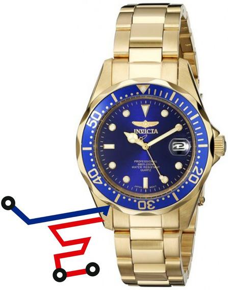 Reloj Invicta Hombre 8937 Pro Diver Acero Inoxidable Azul/el