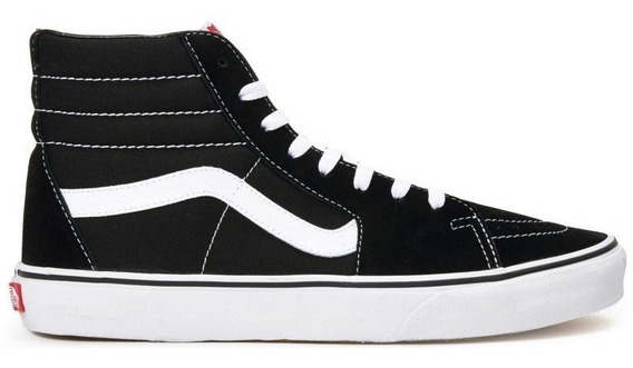 Tênis Vans Classic Sk8-hi Black White - Original + Nf