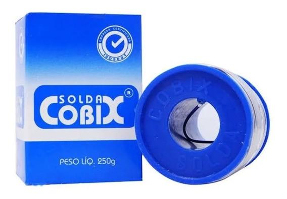Solda Cobix Carretel 1,0mm Azul 250g