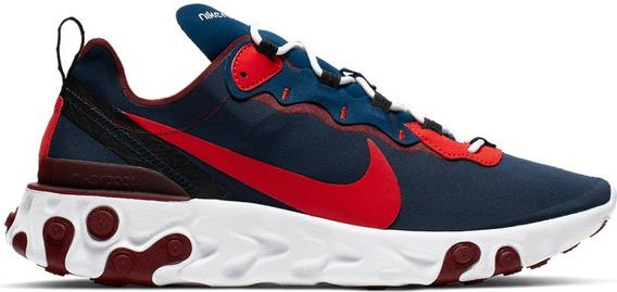 Tenis Nike React Element 55 Correr Cab 26.5 Cj0769 Running