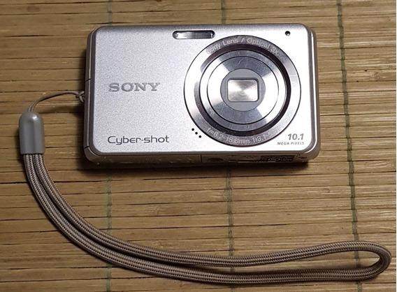 Excelente Cámara Sony Cyber Shot + Estuche! Para Aprovechar.