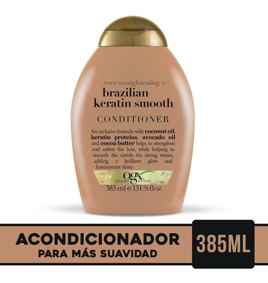 Ogx Brazilian Keratin Smooth Acondicionador 385ml