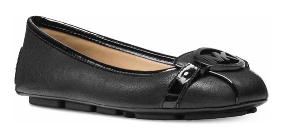Zapatos Michael Kors Lillie Logo Negro! 22.5 Cm