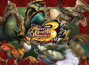Monster Hunter 3 Psp 3rd Digital (english Patch 90%)