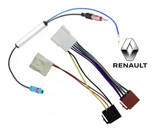 Kit De Chicote Adaptador Plug Para Renault Sandero