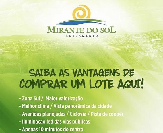 Lote Para Venda No Mirante Do Sol Em Montes Claros - Mg - Lot17