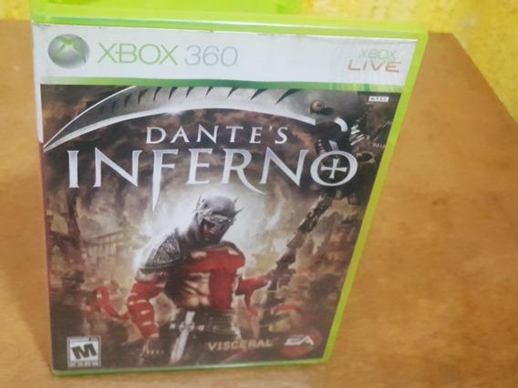 Dantes Inferno Usado Manuais Original Xbox 360 Midia Fisica
