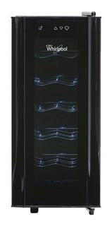 Cava Whirlpool WW2001B para 12 botellas 110V negra