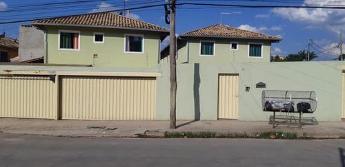 Imagem 1 de 15 de Casa Geminada Para Venda Em Ribeirão Das Neves, Botafogo (justinópolis), 2 Dormitórios, 1 Banheiro, 2 Vagas - V100_1-1646283