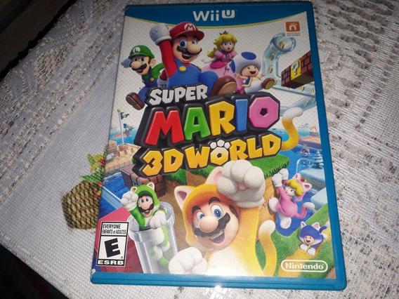 Super Mario 3d World Completo 100% Original Nintendo Wii U