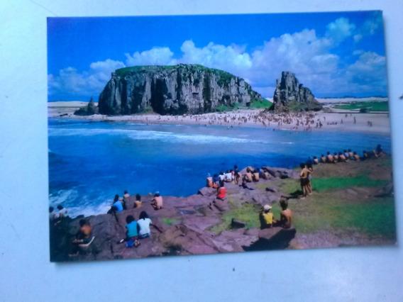 Cartão Postal - Praia Da Guarita Em Dia De Surf - Torres - R