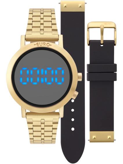 Relógio Euro Feminino Original Garantia Nota Eubj3407aa/t4p
