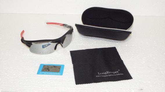 Óculos Long Keeper Sport Polarizado Uv Masc/femin Original