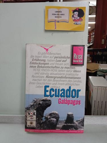 Ecuador Galápagos - Guia Turística - Alemán - Turismo