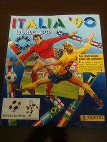 Álbum Copa Do Mundo Italia 90 - Completo - Original Panini