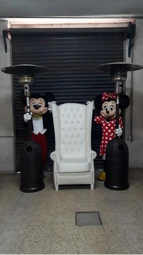 Imagen 1 de 5 de Alquiler  Calefactores Hongo, Sillones, Disfraz Mini Mickey