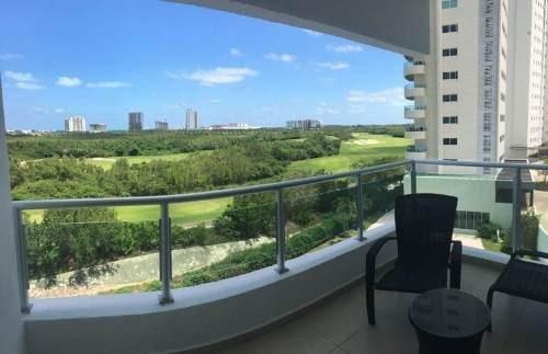 Depto Puerto Cancun / Rento Depto 2 Rec Amueblado Y Equipado