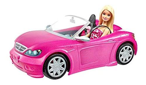 Vehículos De Muñecos Y Muñecas Barbie Convertible