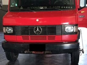 Mercedes-benz Mb 912 Ano 1992 Baú. O Mais Novo Do Brasil