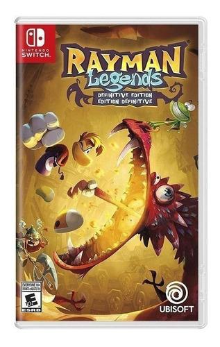 Imagen 1 de 4 de Rayman Legends Definitive Edition Ubisoft Nintendo Switch  Físico