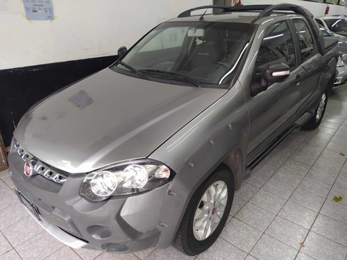 Fiat Strada 1.6 Adventure Cd Capota Pk Seg Gnc 2014 Fb1