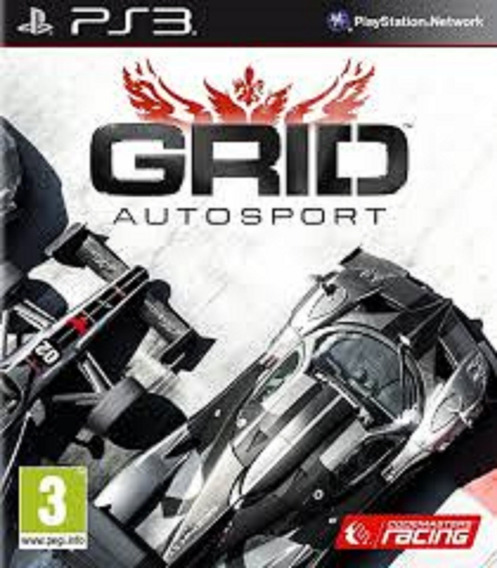 Grid Autosport - Ps3 - Psn - Original Em Midia Digital