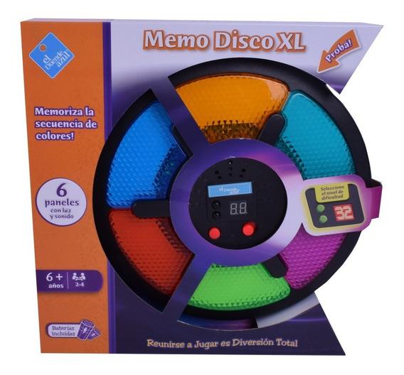 Juego De Memoria Memo Disco Xl Simil Simon 6905
