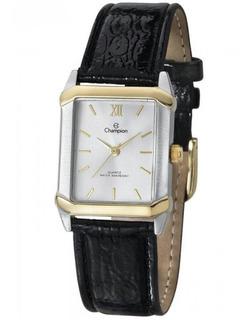 Relógio Champion Pulseira De Couro Original