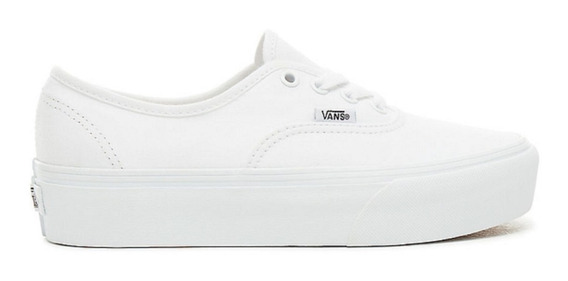 Zapatillas Vans U Authentic Platform 2.0 Mujer Blanco White