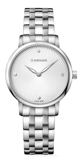 Relógio De Pulso Suíco Feminino Wenger Urban Donnissima 35mm