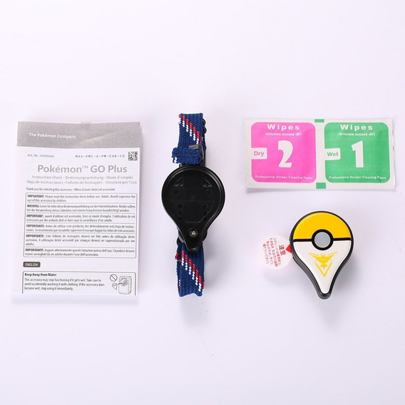 Pokemon Van Pulsera Amarilla Plus