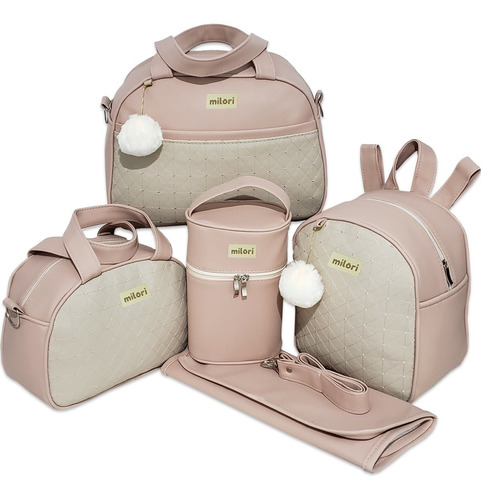 Bolsa Maternidade Kit Completo Menino Menina Luxo Lançamento