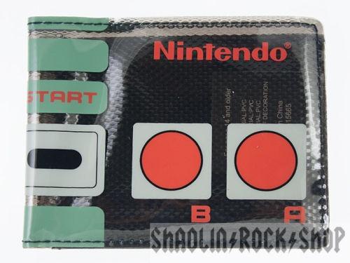 Nintendo Controller Fat Free Cartera Oficial Nes